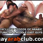gayarabclub 2 150x150 Big Cock Arab Shoots a Cum Load all over British Mans Face