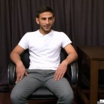 The Casting Room Sajid Arab jerks his big arab cock Amateur Gay Porn 01 150x150 Sexy Arab With A Thick Cock Auditions To Be In Porn Videos