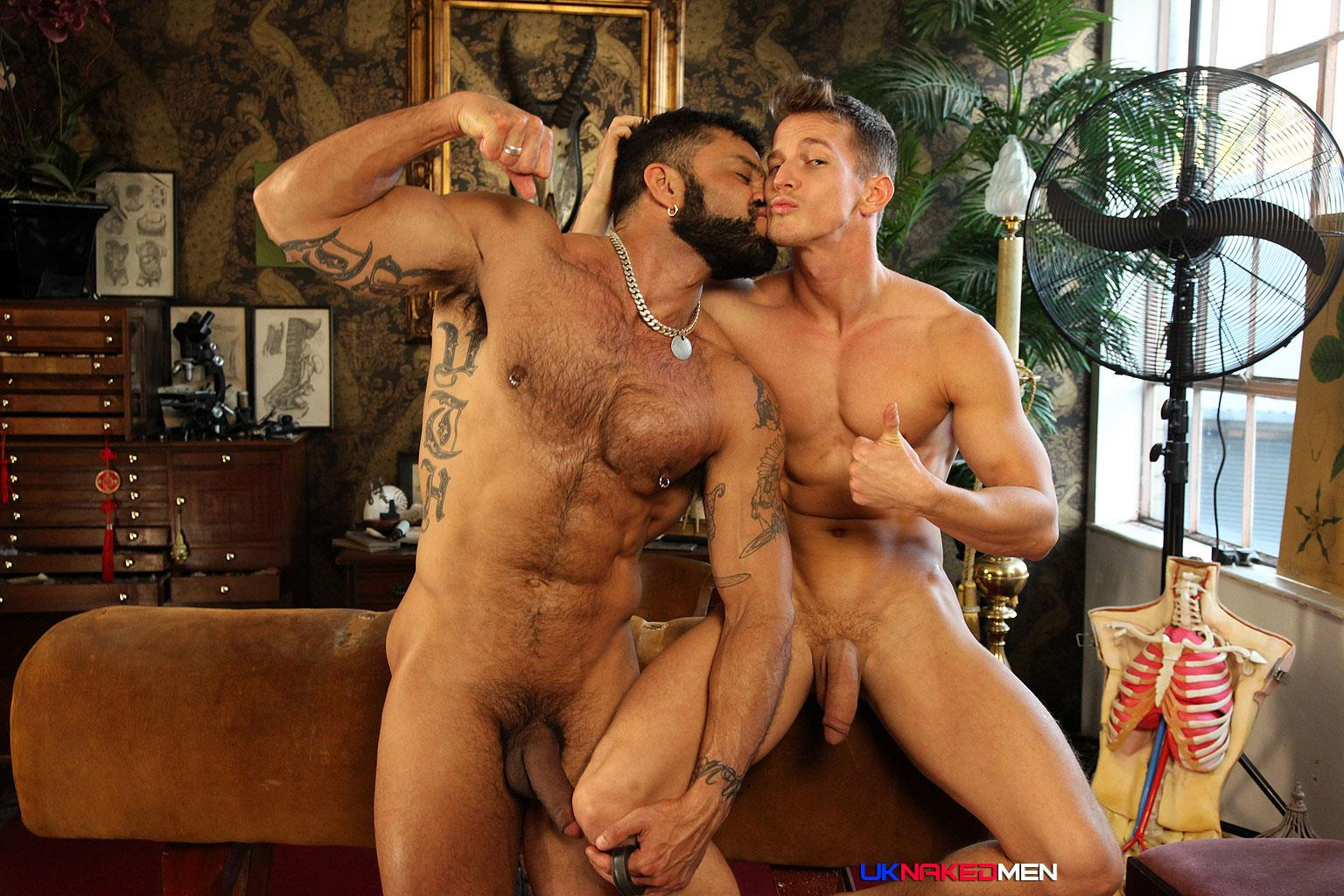 UK Naked Men Rogan Richards Darius Ferdynand Huge Uncut Cocks Fucking Amateur Gay Porn 27 Hairy Muscle Arab Stud With A Big Uncut Cock Fucks A Slim Muscle Ass