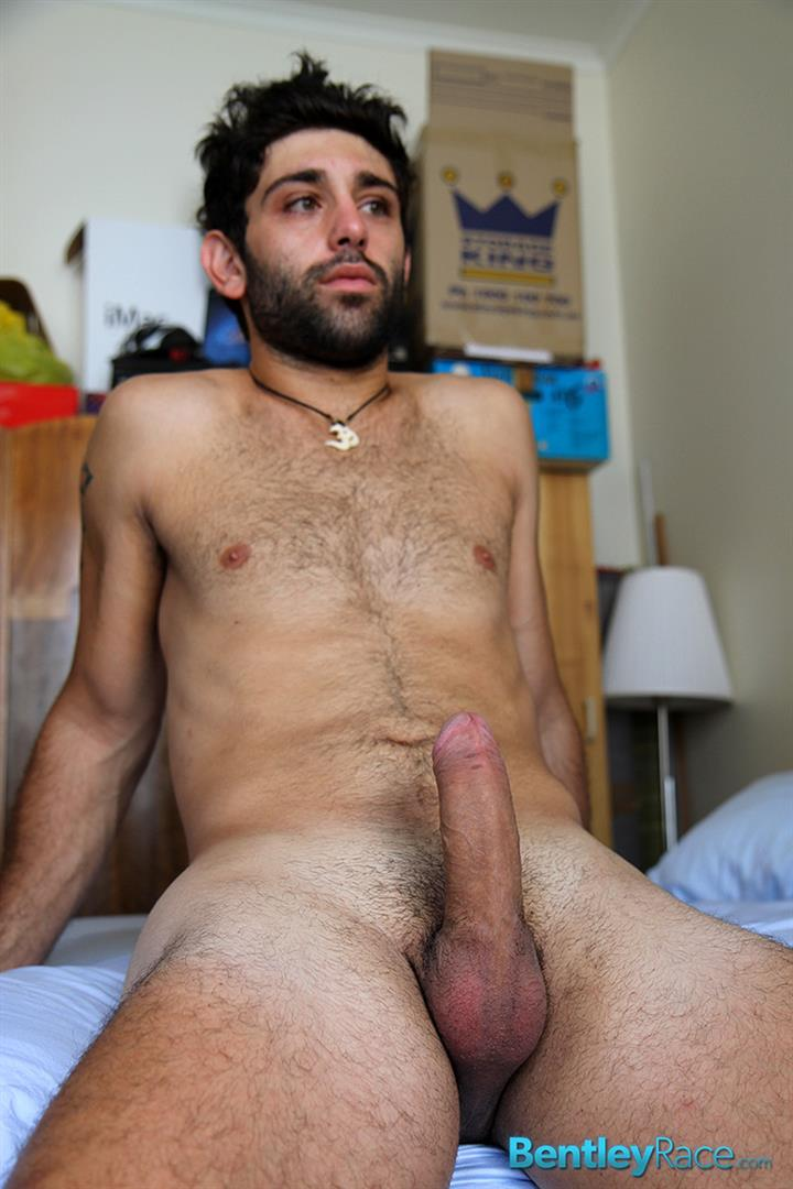 Bentley-Race-Adam-El-Shawar-Middle-Eastern-Hunk-Strokes-His-Big-Uncut-Cock-Arab-Amateur-Gay-Porn-16 Straight 24 Year Old Middle Eastern Jock Jerks His Big Uncut Cock