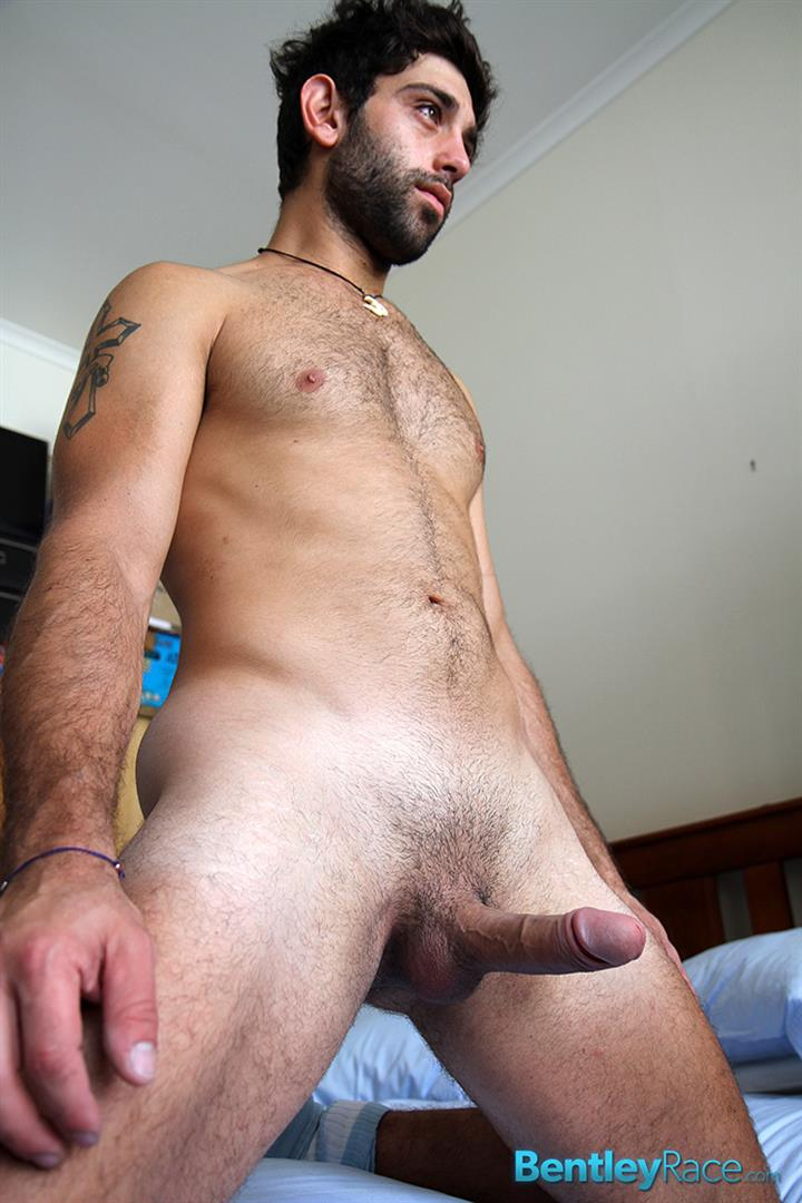 Bentley-Race-Adam-El-Shawar-Middle-Eastern-Hunk-Strokes-His-Big-Uncut-Cock-Arab-Amateur-Gay-Porn-17 Straight 24 Year Old Middle Eastern Jock Jerks His Big Uncut Cock