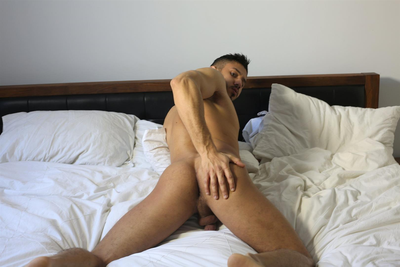 Arab male gay sex trace is wearing a pair